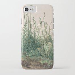 Albrecht Durer - The Large Piece of Turf iPhone Case