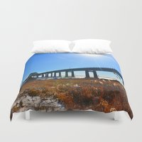 bridge Duvet Covers featuring Bridge  by MF photo works