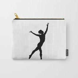 Rudolf Nureyev Silhouette Ballet Dancer Carry-All Pouch