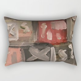 Colourful Chaos VII Rectangular Pillow