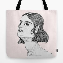 She's Looking Up Tote Bag