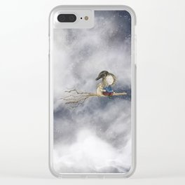 Up In The Night Clear iPhone Case