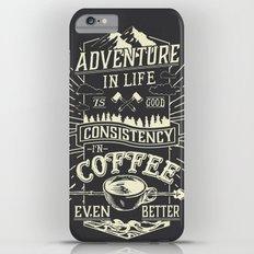 Coffee iPhone 6 Plus Slim Case