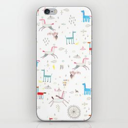 Merry-go-round iPhone Skin