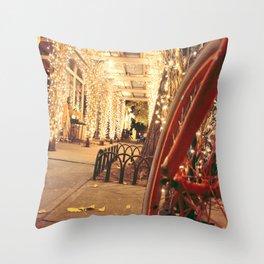 Dream Row Throw Pillow