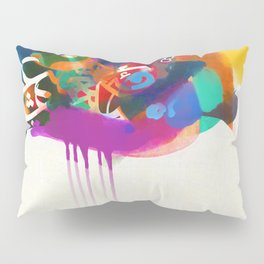 """Lost in Congestion"" - signed Pillow Sham"