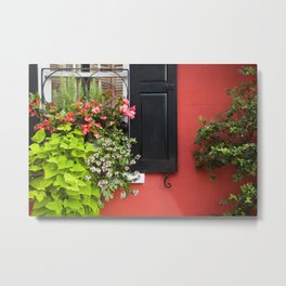 Window Box 1 Metal Print