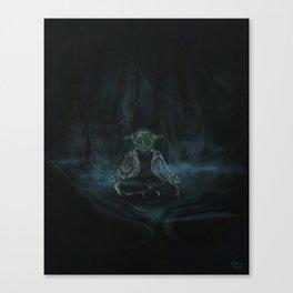 Meditation On Dagobah Canvas Print