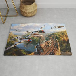 P-38 Lighting Rug