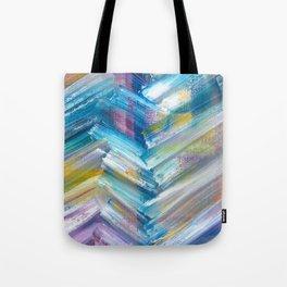 Modern Herringbone (Bright) Tote Bag