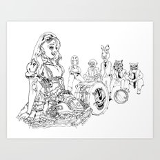 carnavalamerica Art Print