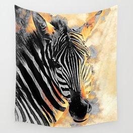 zebra #zebra #animals Wall Tapestry