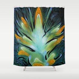 Shuttleflower Redux Shower Curtain