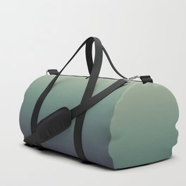 color gradient   blue ,green, grey - autumn colors Duffle Bag