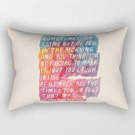 Charles Bukowski Rectangular Pillow