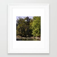 the national Framed Art Prints featuring national by Feather & Hare