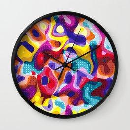 Abstract Design Wall Clock
