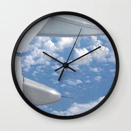 Aerial View Wall Clock