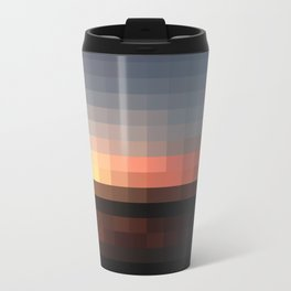 Pixel Metal Travel Mug