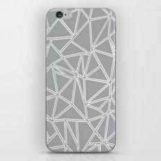 Ab Blocks Grey #2 iPhone & iPod Skin