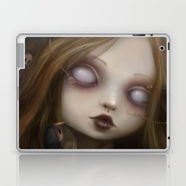 The face of all your fears Laptop & iPad Skin