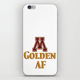Minnesota Golden iPhone Skin