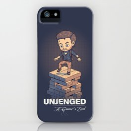 Unjenged: A Game's End iPhone Case