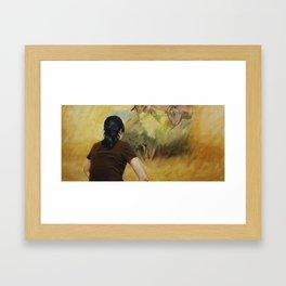 Looking at Degas Framed Art Print