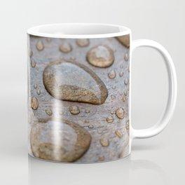 Water Drops on Wood 2 Coffee Mug