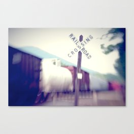 The Freight Line Canvas Print