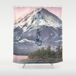 The Kawaguchi Trail Shower Curtain