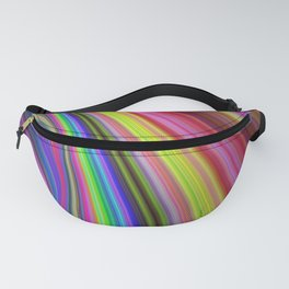 Rainbow vortex Fanny Pack