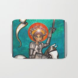 Joan of Arc Bath Mat