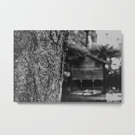 Lakehouse Metal Print