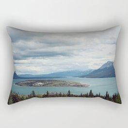 Bove Island Tagish Lake Rectangular Pillow