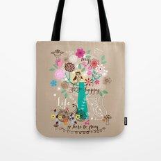 my happy new life Tote Bag
