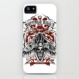 Buffalo Bill Lotion Poster iPhone Case