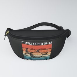 It Takes A Lot Of Balls Funny Golf Jokes Fanny Pack