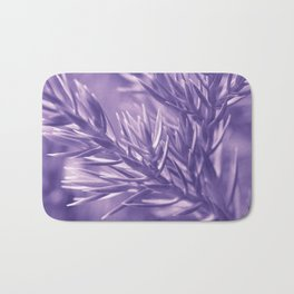 Ultra Violet Spruce Tree Pattern| Trendy color of year 2018 Bath Mat