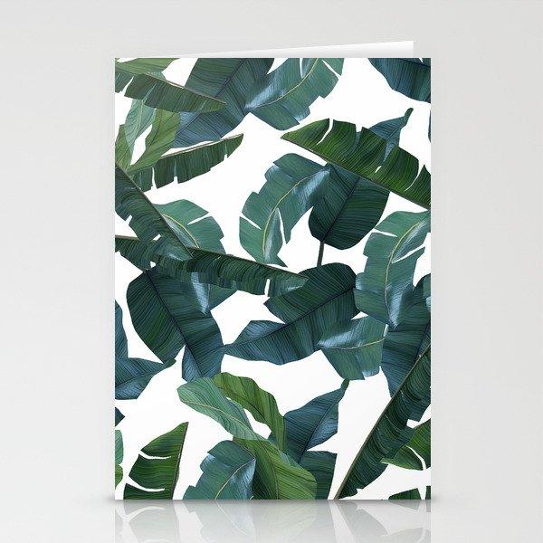 Banana Leaf Decor Society6 Art Stationery Cards By 83oranges