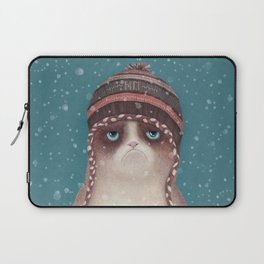 Under snow Laptop Sleeve