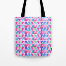Pretty triangles Tote Bag