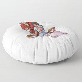 Spy Nesting Dolls Floor Pillow