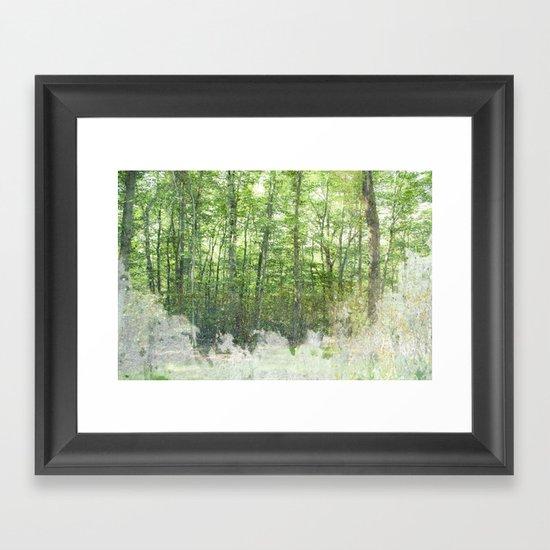 natura 2 Framed Art Print