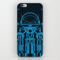 robot iPhone & iPod Skins featuring Robot by Martin Laksman