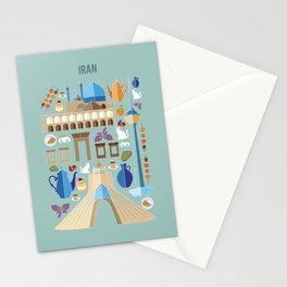 Iran Illustration Stationery Cards