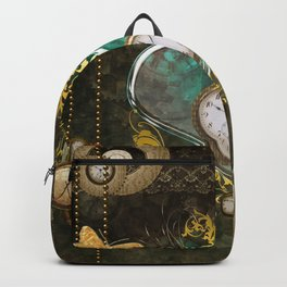 Steampunk, noble design Backpack