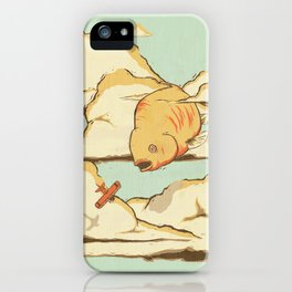 Sky Diving iPhone Case