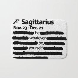 Sagittarius 1 Bath Mat
