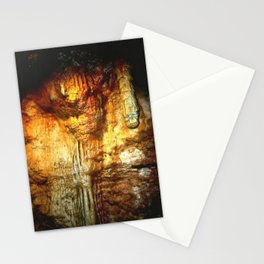 Reflections inside a Dolomite Cave Stationery Cards